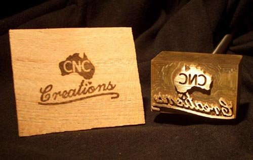 Branding Iron and Wood Brand